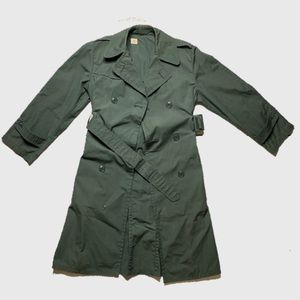 VTG 1980's United States Army Rain Trench coat